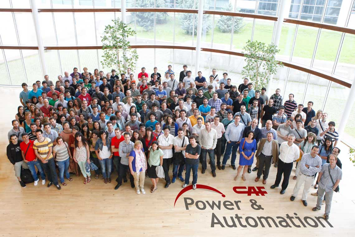 CAF Power & Automation team