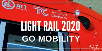 Light Rail 2020 (Canberra) and Go Mobility (Irun) on March agenda