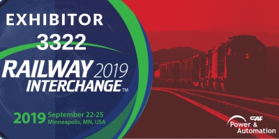 CAF Power & Automation, expositor en Railway Interchange 2019