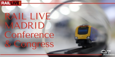 CAF Power & Automation-ek RAIL LIVE! Congress & Exhibition-en parte hartuko du