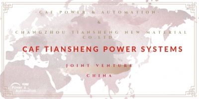 CAF Power & Automation constituye una Joint Venture en China