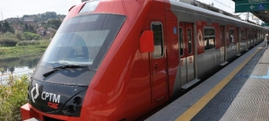 First train delivered: Serie 8500 - CPTM